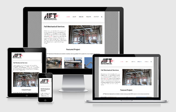 Web Site Design for AFT Mechanical