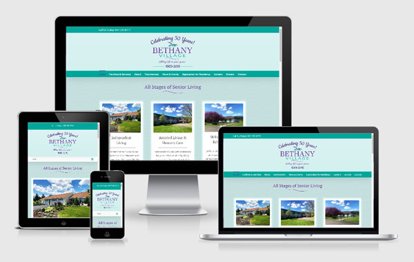 Website Design for Bethany Village