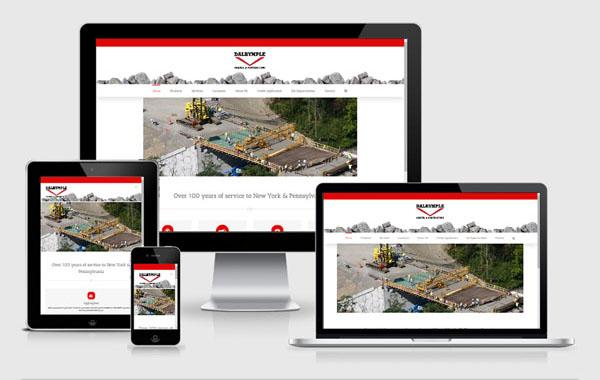 Web Site Design for Dalrymple Gravel and Contracting