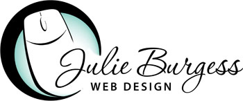 Julie Burgess Web Design Logo