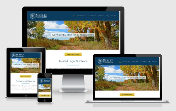Website Design for Mullen Associates