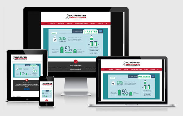 Web Site Design for Southern Tier Diabetes Coalition