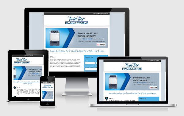 Website Design for Twin Tier Imaging Systems