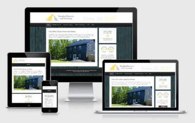 Web Site Design for Woodland Kennels and Grooming