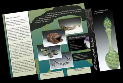 Brochure Design by Julie Burgess Web Design