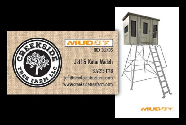 2-Sided Business Card Design by Julie Burgess Web Design