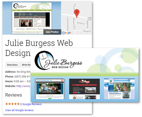 Social Media Graphics Design by Julie Burgess Web Design